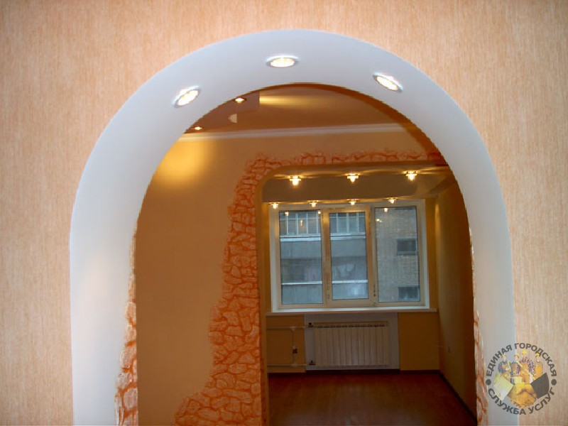 Дизайн арочного проема