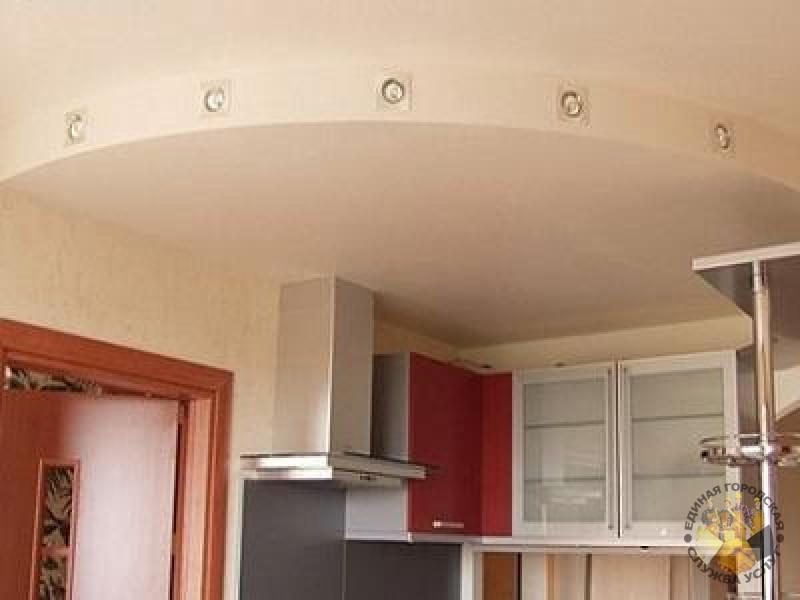 Двухуровневые потолки для кухни из гипсокартона своими руками 472